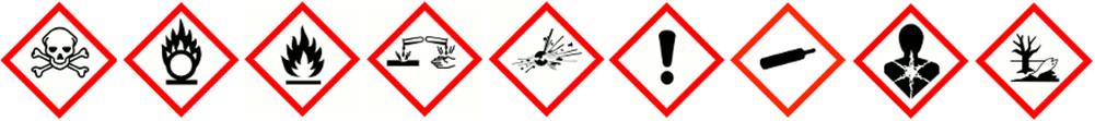 Chemical Warning Icons